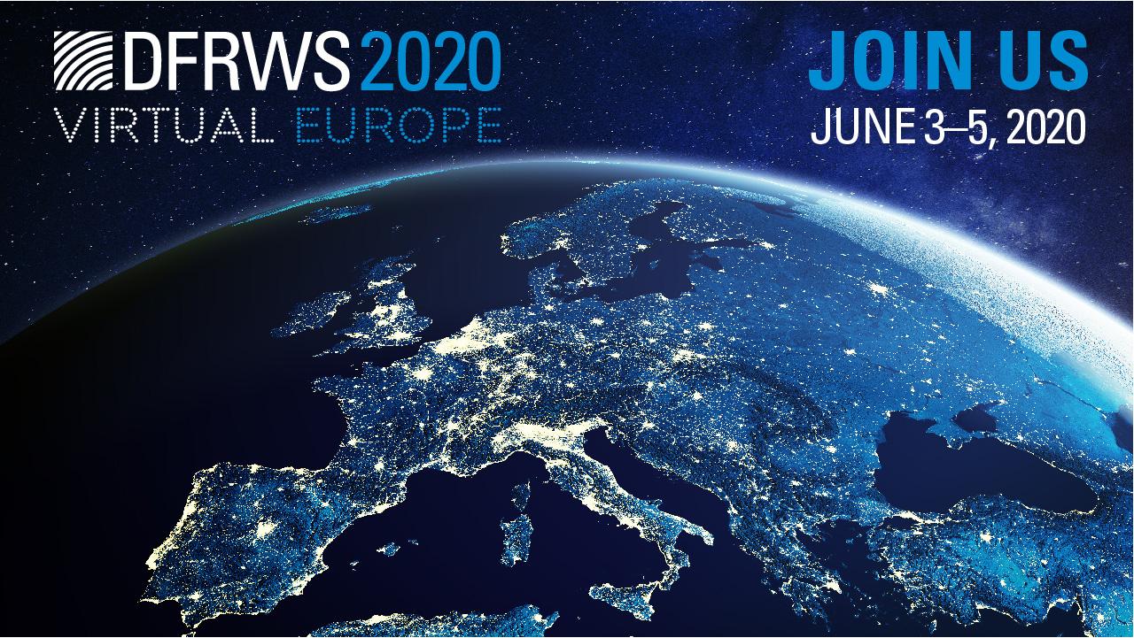 DFRWS EU Virtual 2020 logo