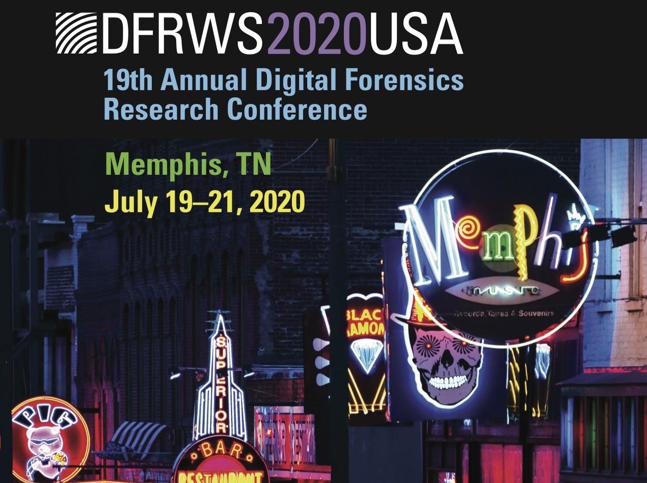 DFRWS USA 2020 logo