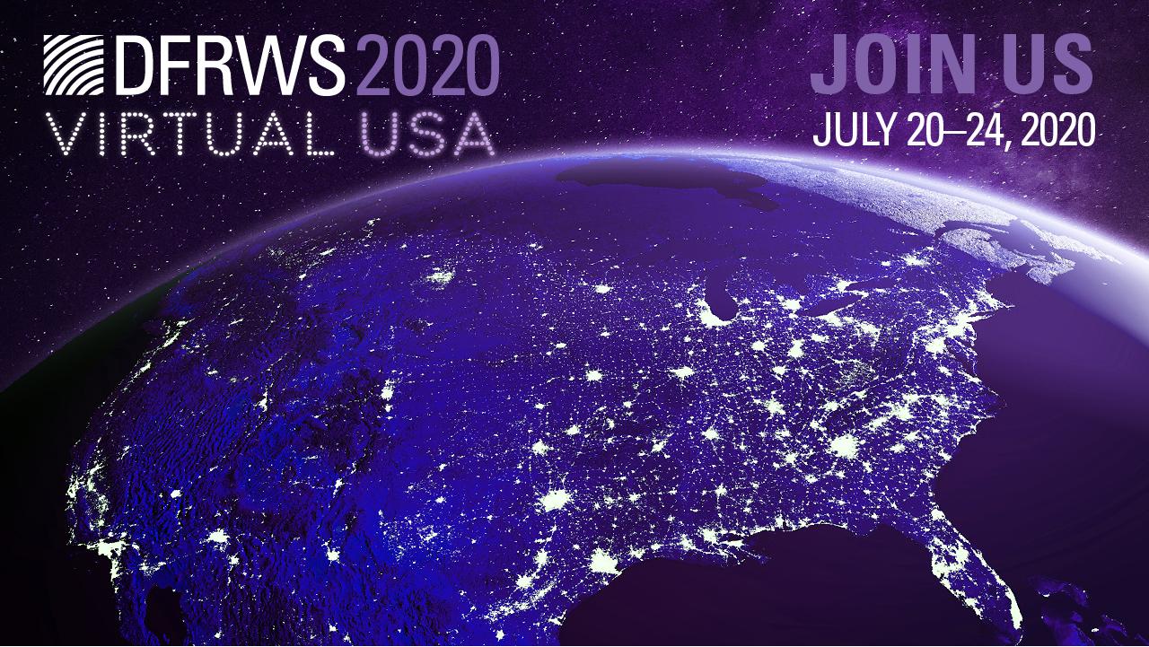 DFRWS 2020 Virtual USA logo